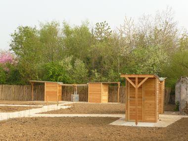 Abris pour jardin familiaux - Marcanterra Bois et Plantes - Ouvrages ...