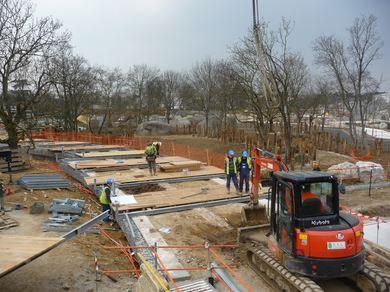 construction a ossature métallique